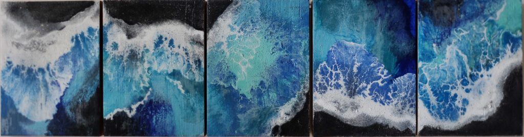Obra Ártico de Maral Ríos - Colección Pequeño Océano