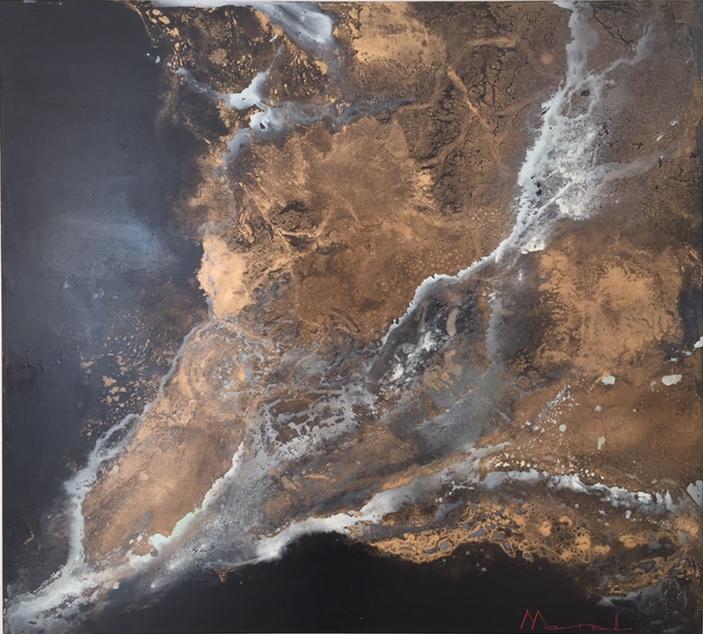 Obra Lava - Maral Ríos - Abstractos