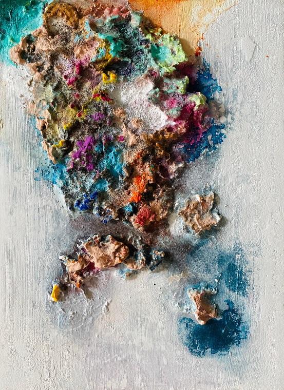 Obra Color Corallium de Maral Ríos
