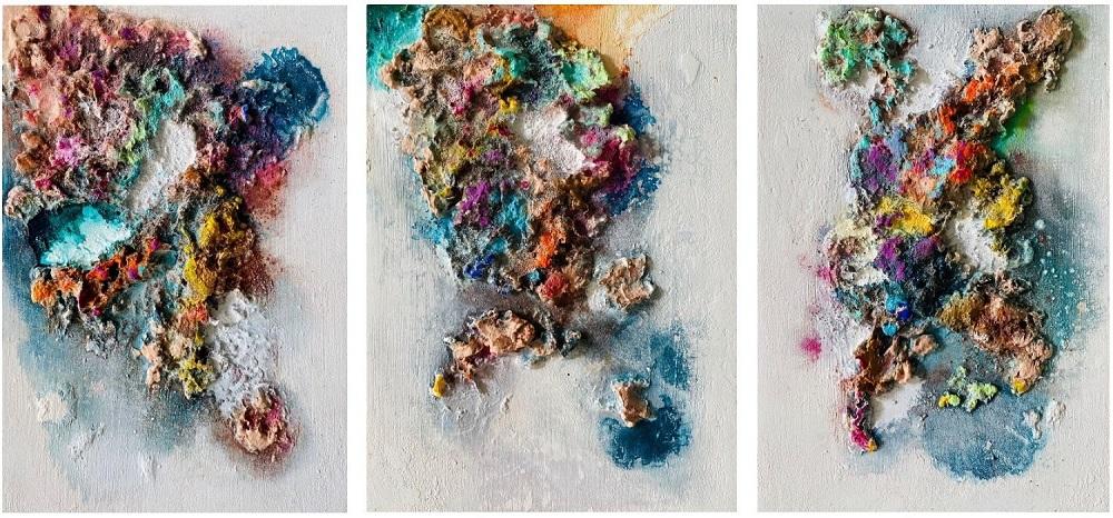 Obra Color Corallium completa de Maral Ríos