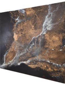 Detalle Obra Lava de Maral Ríos