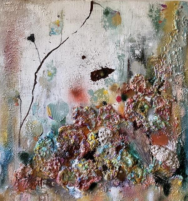 Obra Conchas sin nombre II - Colección Abstractos - Maral Ríos