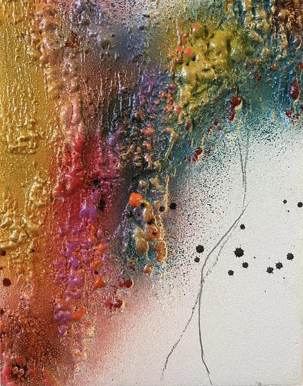Obra Corallium II Díptico de Maral Ríos