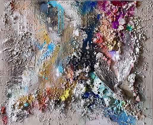obra Conchas sin nombre VI de Maral Ríos